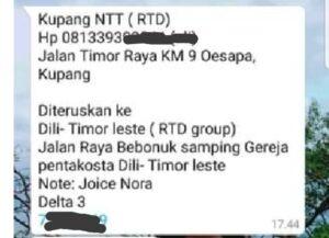 alamat RTD Kupang