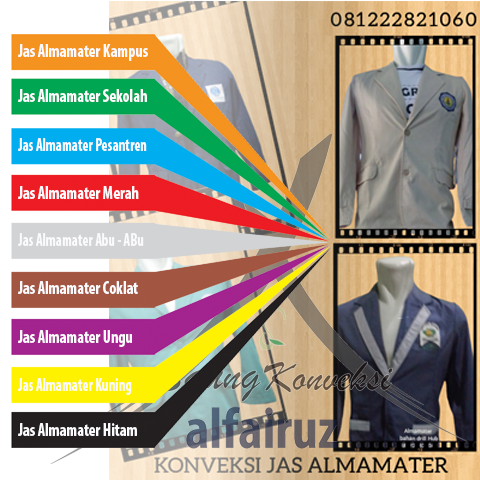 bikin jaket almamater sekolah