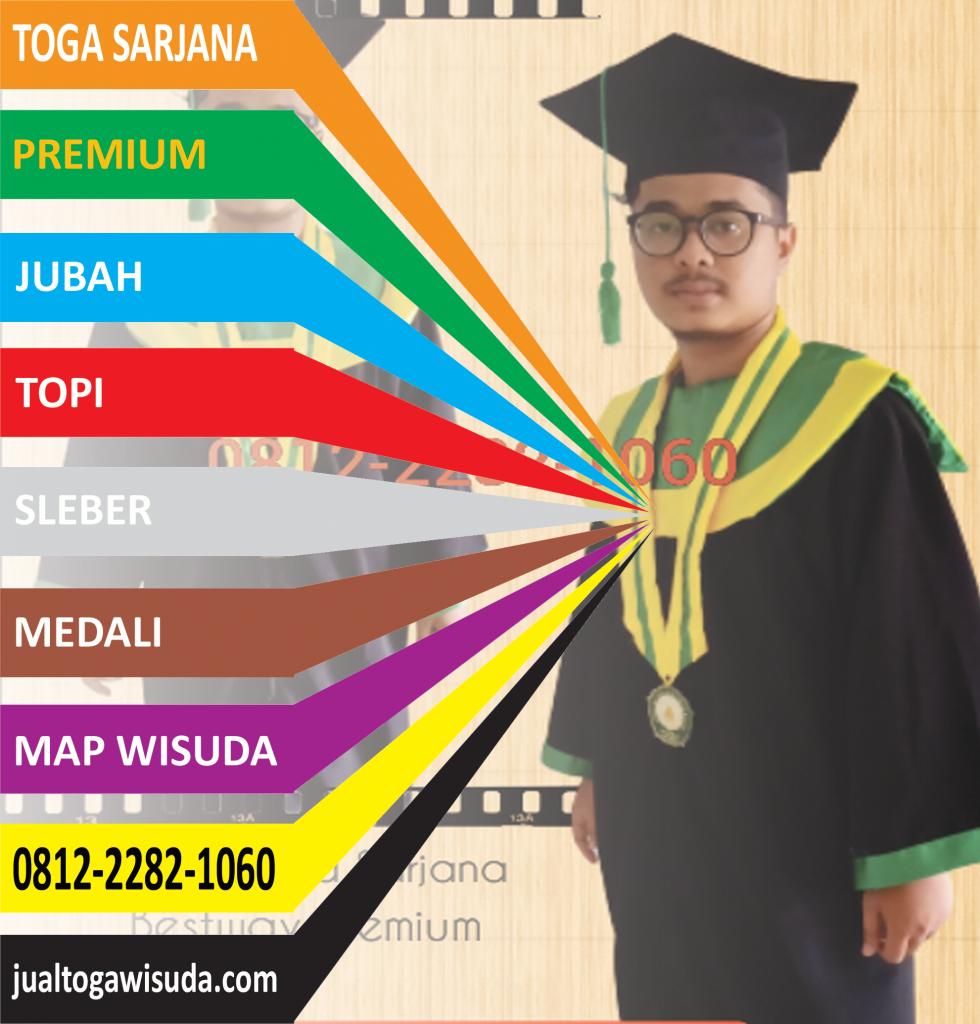distributor baju toga wisuda sarjana murah