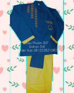 baju muslim anak SDIT