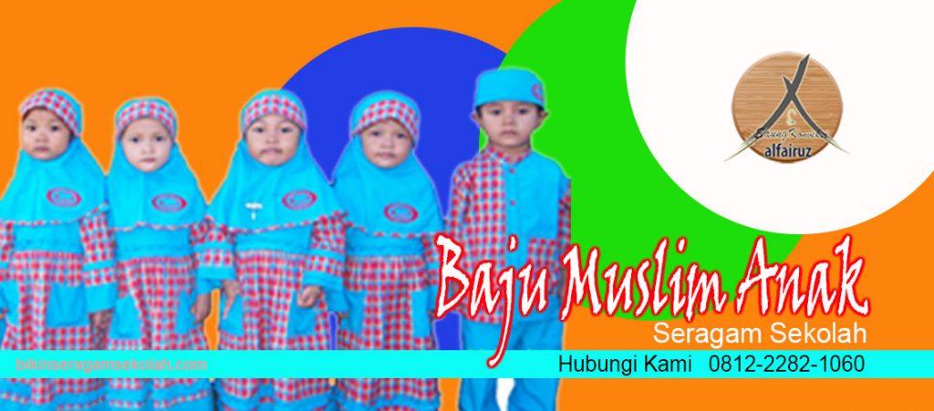 jual seragam baju muslim anak sekolah TK di Mamasa