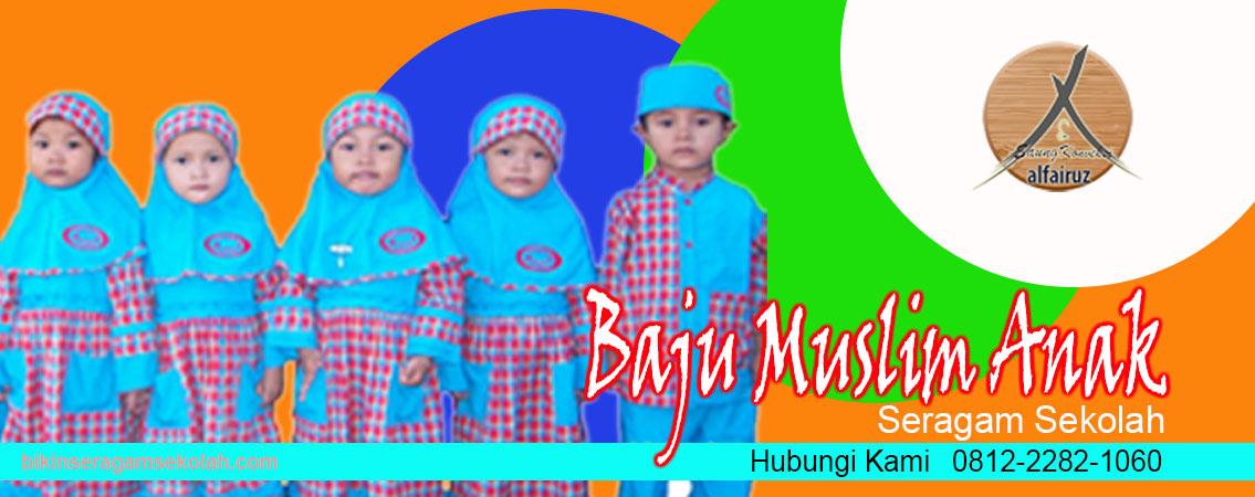 Produsen seragam sekolah tk islam di Tangerang Termurah