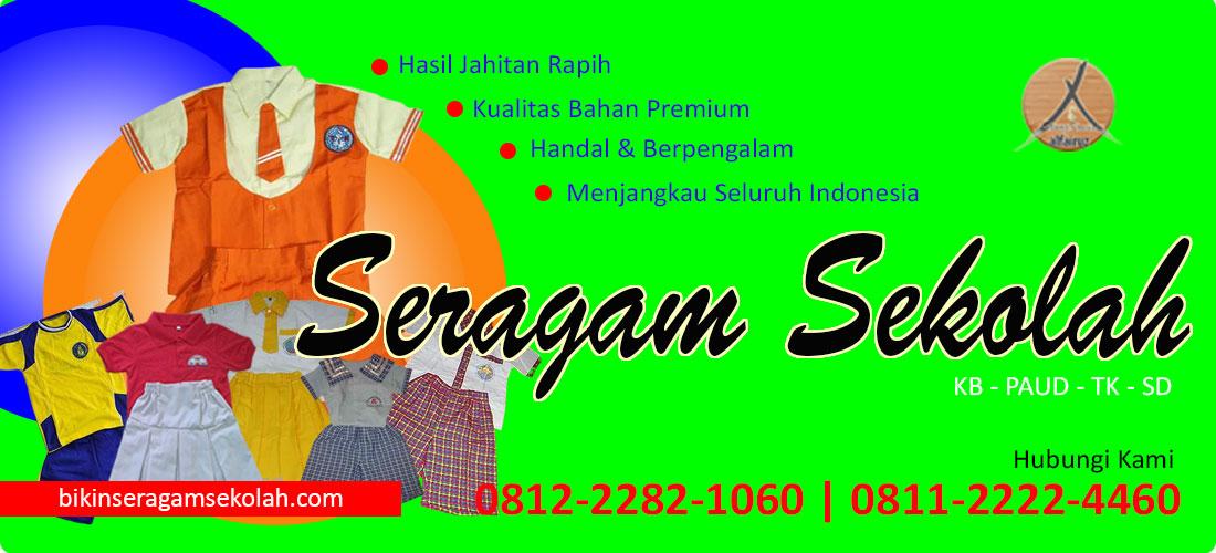 Harga Seragam TK Nasional pendek ready putra-putri di Jakarta
