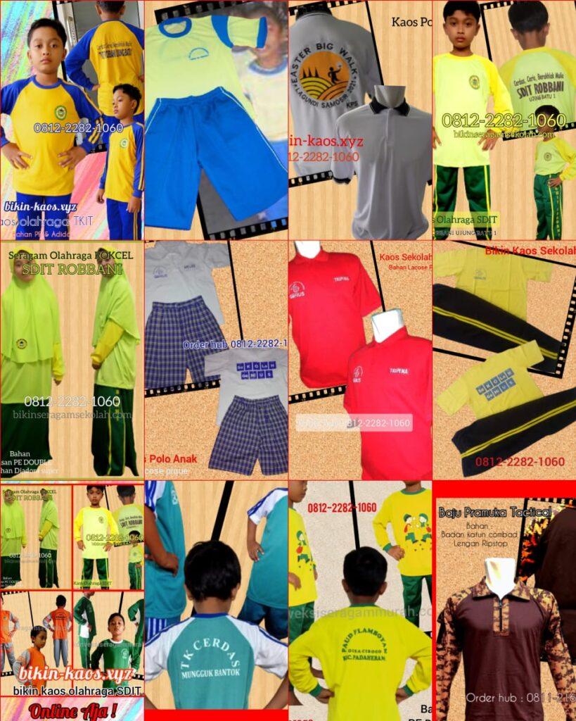 contoh model Baju Olahraga Sekolah murah di Morotai