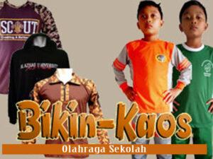 bikin seragam kaos olahraga sekolah SD