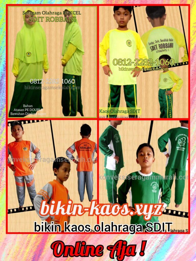 grosir seragam olahraga SD Islam Terpadu murah di taliwang