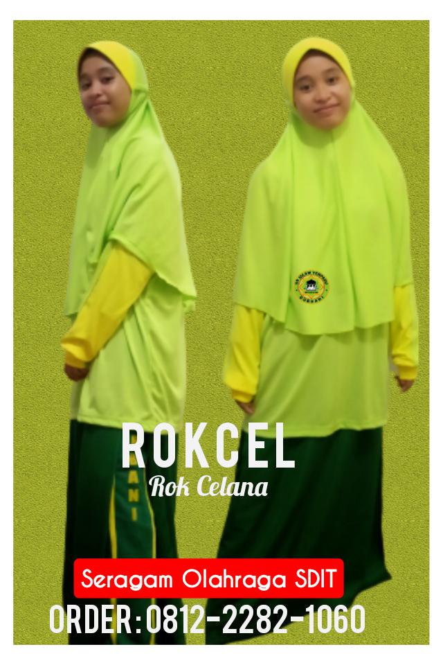konveksi seragam olahraga rokcel SD Islam Terpadu murah di tangerang