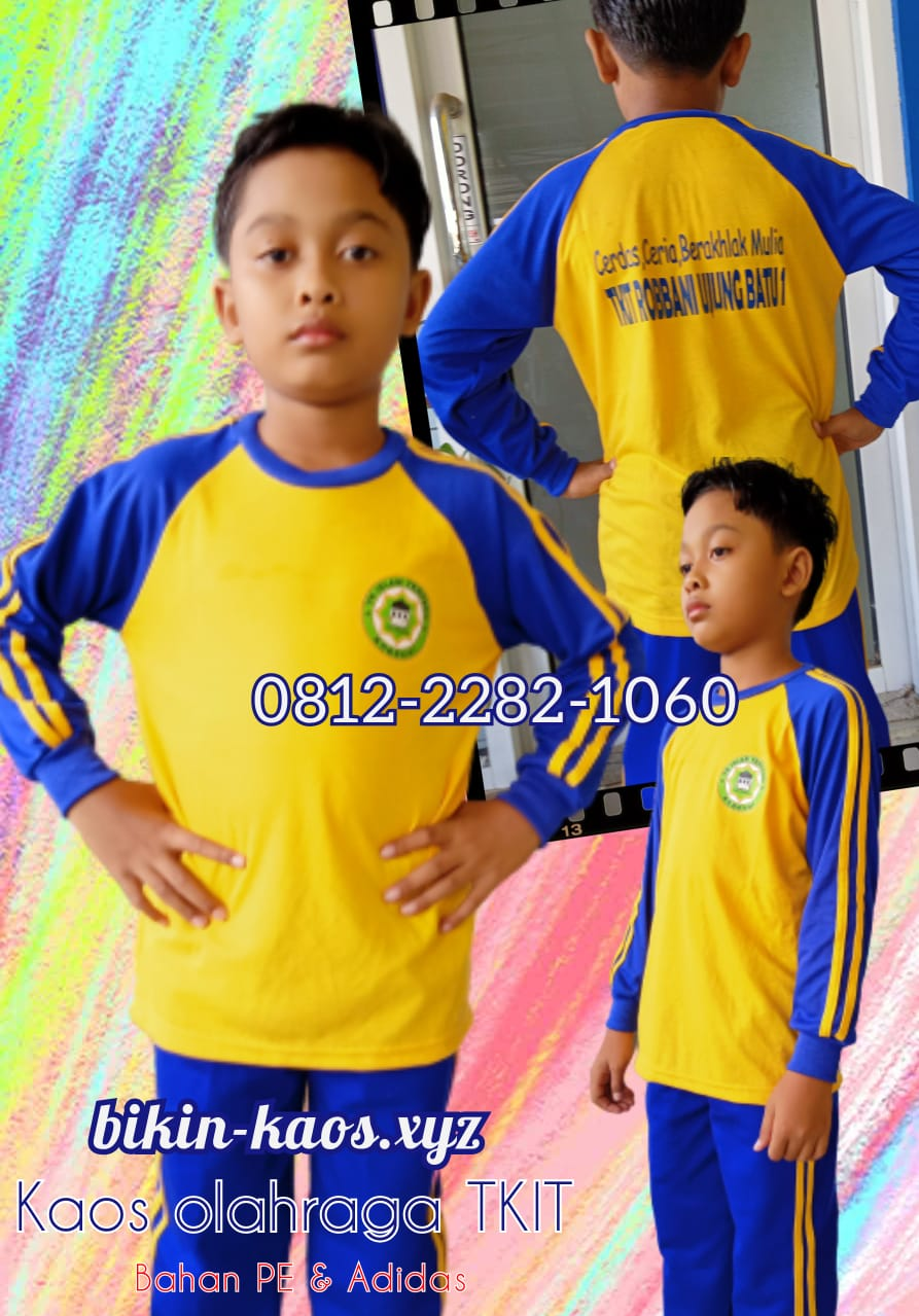 model seragam olahraga sekolah SD