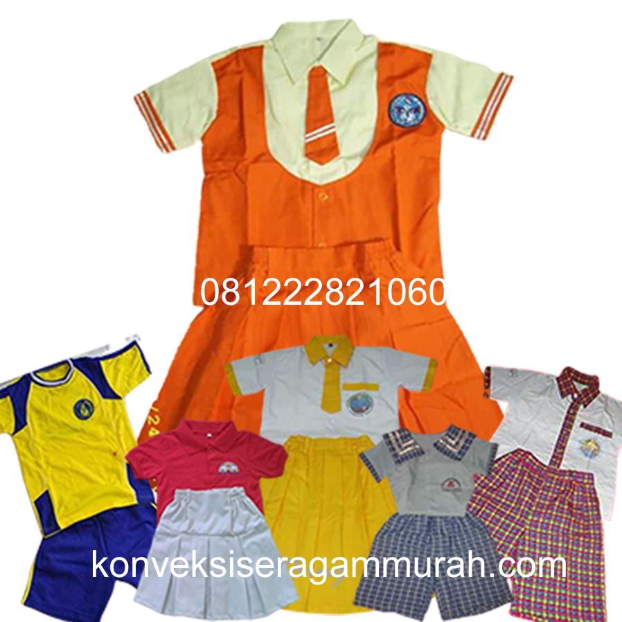 bikin baju seragam sekolah anak TK